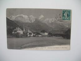 Carte    Sallanches Saint-Martin Et Le Mont-Blanc     1910 - France