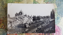 KAZAKHSTAN. ALMATY Capital. Sovetskaya Street . 1920s Rare GLAVLIT Edition /  Postcard - Kazakhstan
