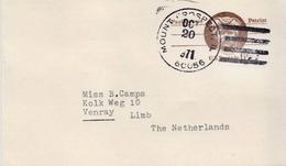 Postal History Cover: USA Used Postal Stationery Card - Postal Stationery