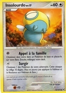 Carte Pokemon 73/127 Insolourdo 60pv 2009 - Pokemon