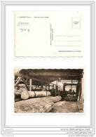 6465 AK/PC/CARTE PHOTO/996/GABON/LAMBARENE /SCI ERIE DE CHANTIER FORESTIER - Gabon