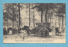 BELLE CPA 10 Aube CATASTROPHE 31 Octobre 1911 AMBULANCE PROVISOIRE Effondrement Malterie Attelage Chemin Fer Est - Nogent-sur-Seine