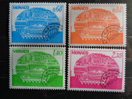MONACO TAXE 1979 Y&T N° 62 à 65 ** CENTRE DE CONGRES - Postage Due