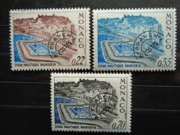 MONACO TAXE 1969 Y&T N° 27 à 29 ** STADE NAUTIQUE RAINIER III - Postage Due