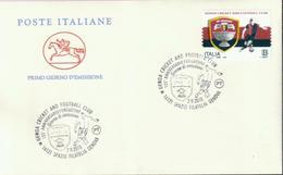 Italien '125 Jahre CFC Genua' / Italy '125th Ann. Of Genoa Cricket & Football Club' FDC 2018 - Club Mitici