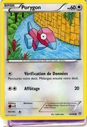 Carte Pokemon 64/98 Porygon 60pv 2015 - Pokemon