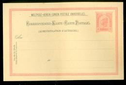 Lettre * AUTRICHE * EMPIRE * CP éffigie F.Joseph à 10 Heller Rouge * Neuf * Ongebruikt  (11.445p) - Covers & Documents