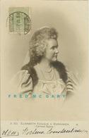 1905 Romania Real Photo Postcard: Queen & Prize-Winning Authoress Elisabeth TCV - Roemenië