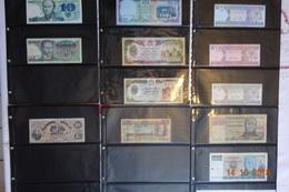 Lot De 179 Billets Du Monde - Banknoten