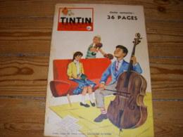 TINTIN 528 04.12.1958 BD John ROCKEFELLER JEUX Et JOUETS 1959 FLORIDE SCOOTERS - Tintin