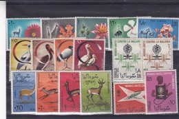 SOMALIA, MIXED STAMPS: FAUNA, FLORA, MALARIA. UNUSED. CIRCA 1967- BLEUP - Somalia (1960-...)