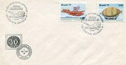 CORREO GENERAL DA CORTE MATASELLO 1º VOO DO DC 10 DA LUFTHANSA SAO PAULO BRASIL 1978 -LILHU - Brazil