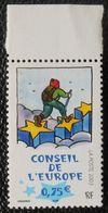 Année 2003 Conseil Europe 127 Tomi Ungerer  Le Marcheur Sur Les étoiles  Neuf - Service