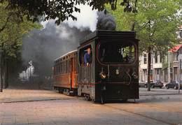 Trein Train HTM Stoomlocomotief Ooievaar  Anno 1904 Op De Statenlaan In Den Haag Nederland     X 4267 - Eisenbahnen
