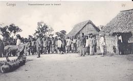 CONGO  Rassemblement Pour Le Travail  ( Plan Animé ) - Congo Francese - Altri