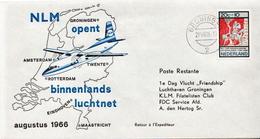 Netherlands First Flight Cover - Postal History