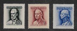 Slovakia 1944,Hlinka Type,Scott # 93-94A,VF-XF MNH** (A-D-st) - Slovakia