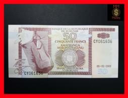 BURUNDI 50 Francs 5.2.2005  P. 36 E  UNC - Burundi