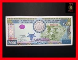 BURUNDI 2.000 2000 Francs 25.6.2001  P. 41 UNC - Burundi