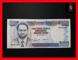 BURUNDI 500 Francs  5.2.1995 P. 37 A  UNC - Burundi