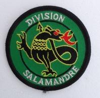 Ecusson Division SALAMANDRE - Ecussons Tissu