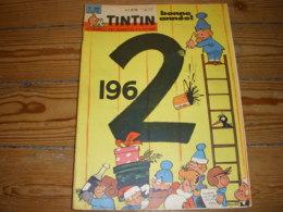 TINTIN 688 28.12.1961 HISTOIRE Du CALENDRIER BD BETE Du GEVAUDAN TOUR De CARTES - Kuifje