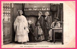 Douarnenez - Toilette D'une Mariée - Porcelaine - Animée - Collection VILLARD - Marriages