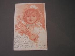 Schönes Mädchen Motiv, Verlagskarte Nach Gütersloh    Monotint AK - 1900-1949