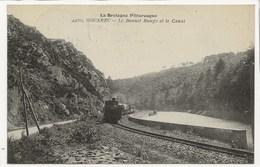 22 - GOUAREC - Le Bonnet Rouge Et Le Canal / TRAIN +++ La Bretagne Pittoresque / Collection A. Waron, St-Brieuc +++ 1925 - Gouarec