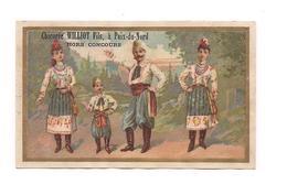 CHROMO   CHICOREE WILLIOT -DANSEURS RUSSES - (Courbe Rouzet) - Chromos