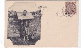 CARD CINA TIENTSIN RIBELLE -CRIMINALE (BOXEUR?) CONDANNATO A MORTE  - FP-V-2-   0882-28389 - Chine