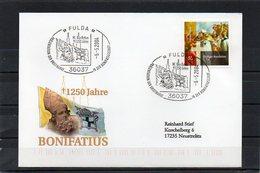 """Deutschland, 2004, Brief (echt Gelaufen), Sonderstempel """"Hl. Bonifatius"""" - [7] Federal Republic"""