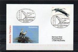 """Deutschland, 2004, Brief (echt Gelaufen), Sonderstempel """"Storchentag"""" - [7] Federal Republic"""