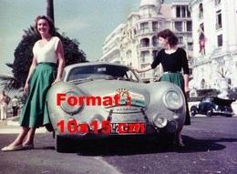 Reproduction D'une Photographie D'une Porsche 356 Numéro 229 Au 4 ème Tour De France Automobile - Repro's