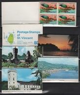 St. Vincent (1969) - 6 Booklets -   /  Birds - Oiseaux - Vogel - Aves - Vogels