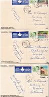 Canada 3 Used Postal Stationery PPCs - 1953-.... Reign Of Elizabeth II