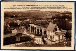 BEAUNANT - ENTRE OULLINS ET FRANCHEVILLE - LE VALLON - AQUEDUC - France