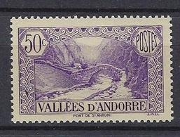 Andorre 1937-43 Y&T N°64 Neuf Sans Charnière - Unused Stamps