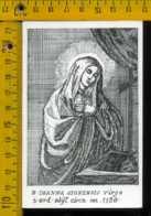 Santino Dipinto A Mano Beata Ioanna Signensis Virgo - Images Religieuses