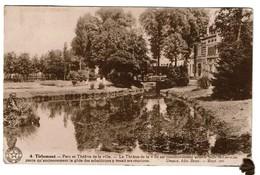 Tirlemont / Tienen - Parc Et Théâtre De La Ville Salle St-Gerges - Edit. Desaix - 2 Scans - Tienen