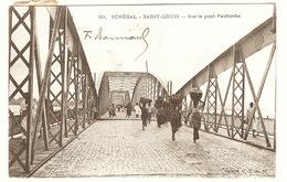 Sénégal : SAINT LOUIS - Sur Le Pont Faidherbe - Sénégal