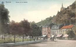 Esneux - Avenue De La Station (animée, Colorisée, Attelage....adhésif Au Dos) - Esneux