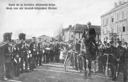Salut De La Frontière Allemande-belge (top Animation, Soldat Cycliste, Verlag Hubert Poensgen 1909) - Welkenraedt