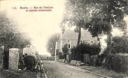 Moxhe - Rue Du Tomlieu Et Maison Communale (Edit. Papeterie H. Kaquet ) - Hannut