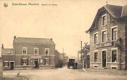 Belle-Maison (Marchin) - Maison Du Peuple (animée, Attelage, Café Magasin, Edit. Gaston Destatte) - Marchin