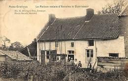 Mons-Crotteux - La Maison Natale D'Antoine Le Guérisseur (animée, Edit. Bricteux-Dor, Photo Breuls) - Flémalle