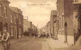 Mons-Crotteux - Rue Du Tilleul (animée, Edit. Henri Kaquet) - Flémalle