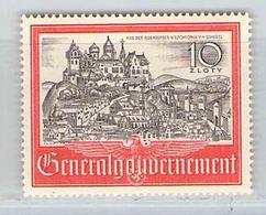 MiNr. 65 Xx Deutschland Besetzungsausgaben II. Weltkrieg Generalgouvernement - Occupation 1938-45