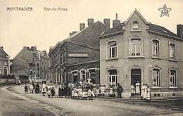 Montegnée - Rue Du Potay (top Animation, Imprimerie Papeterie Edit De Schrynmakers 1918 (fin De La Guerre) - Saint-Nicolas
