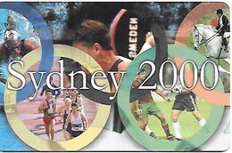 CARTE-ROUMANIE-PUCE-GEM-2000-JO SYDNEY 2000-TBE - Sport